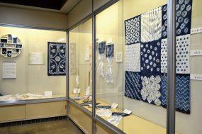 ミニ展示「絞り-糸のmagic-」
