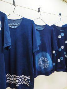 伝統工芸館ミニ展示「藍T Vol.13 藍染Tシャツの魅力」