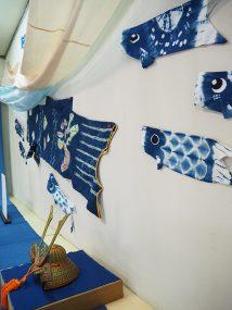 伝統工芸館ミニ展示「端午の節供」