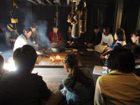 Folk story telling in local dialects