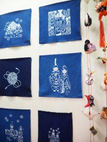 伝統工芸館ミニ展示「桃の節句-ひなまつり-」